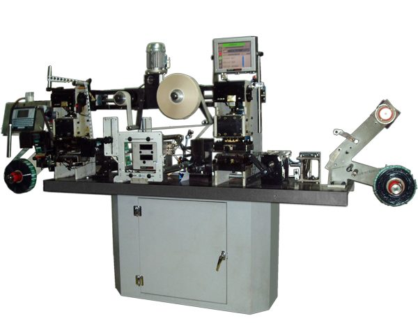 Multy-functional hot-stamping press